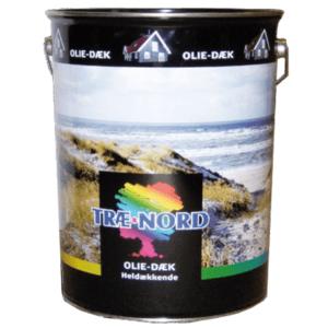 Heldækkende træbeskyttelse træolie med farve 10 liter, Træbeskyttelse sort 10 liter